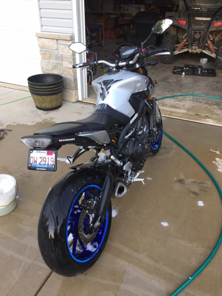 Nick 39 s average fz 09 build page 2 for Yamaha collinsville il