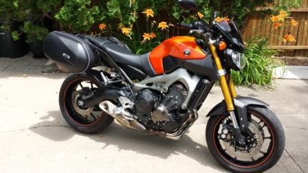Yamaha Fz Hard Saddlebags