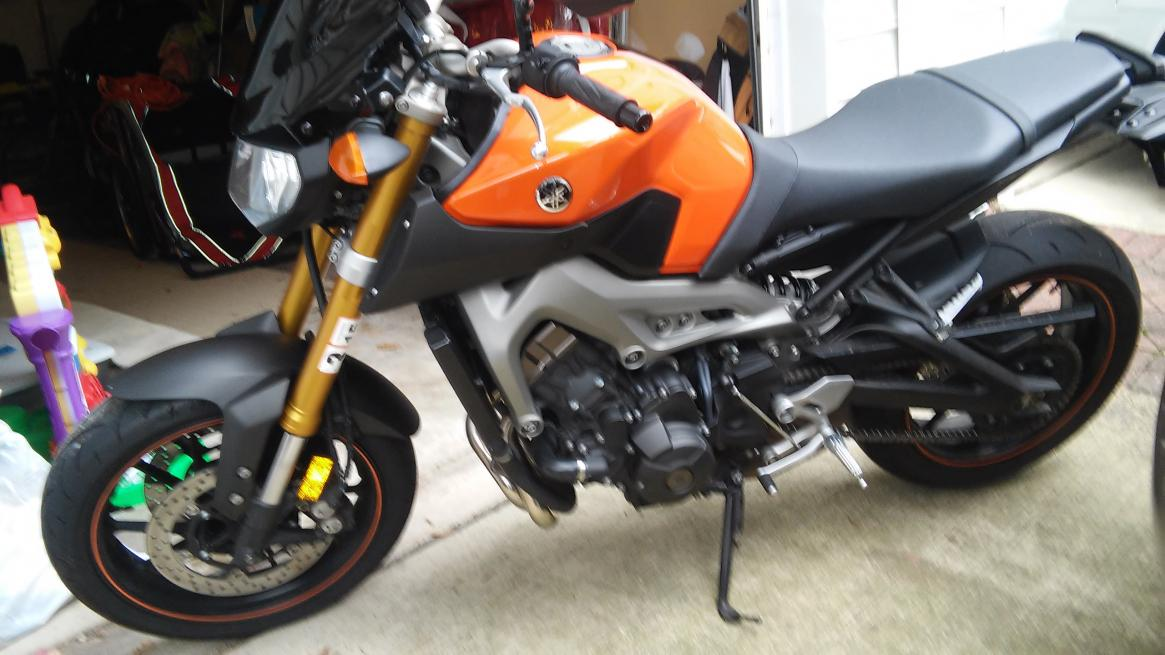 2014 yamaha fz 09 blazing orange for sale for Used 2014 yamaha fz 09 for sale