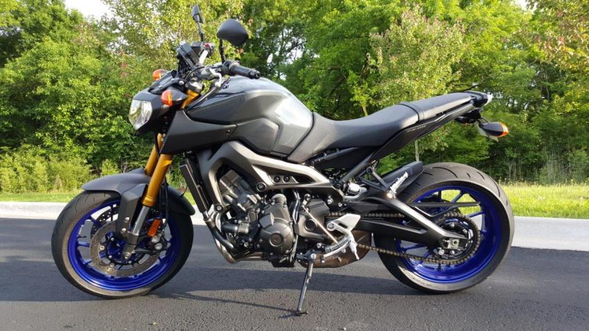 2104 fz 09 graphite super clean 3442mi shreveport la for Yamaha fz09 price