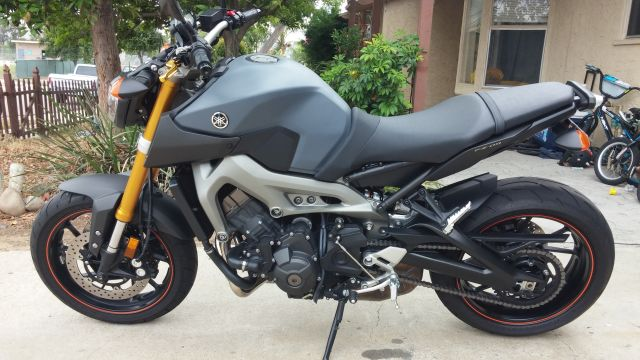 Plasti Dip Gas Tank First Time Came Out Awesome Yamaha Fz 09 Forum