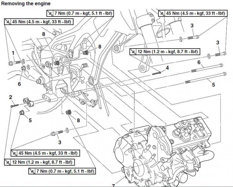 Engine Mount Torque Specs