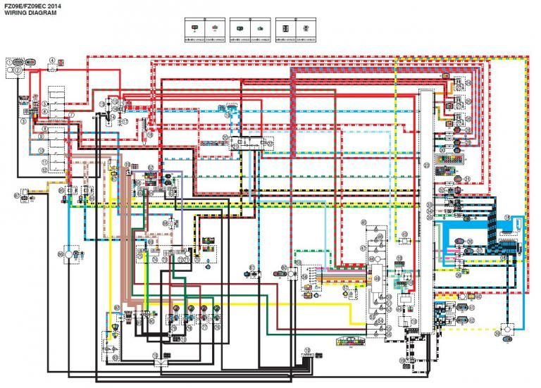 Anyone Have A Wiring Diagram? | Page 2 | Yamaha FZ-09 ForumYamaha FZ-09 Forum