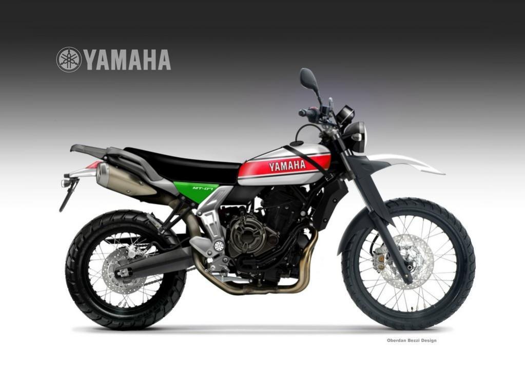 Family On Motorcycle likewise Yamaha MT07. on hard bikes motorcycles ...