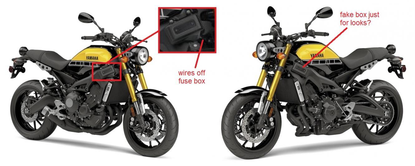 Yamaha Xsr Windscreen