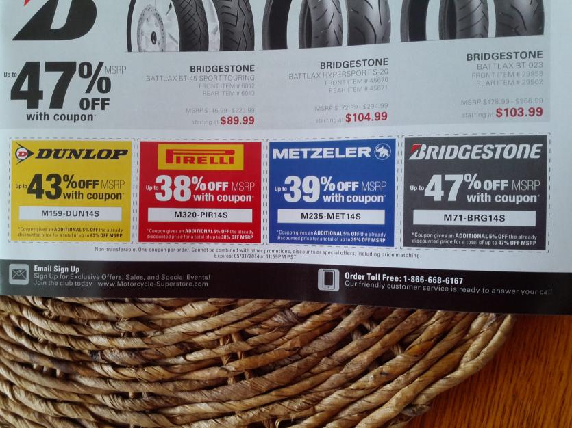 Motorcycle Superstore Coupons Img 20140306 124912