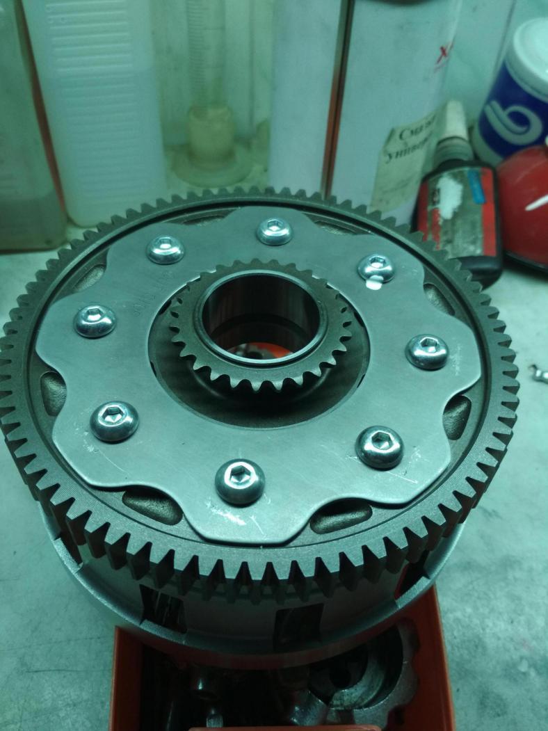 Yamaha FZ/MT 09 clutch buzz/noise/vibrations. How I repair it.-img_20170929_190841_1506828489821.jpg