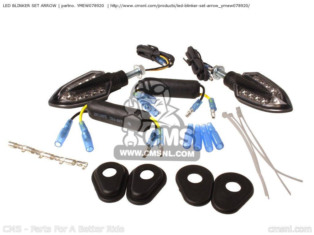 Installing LED turn signals front and back - Yamaha MT-09