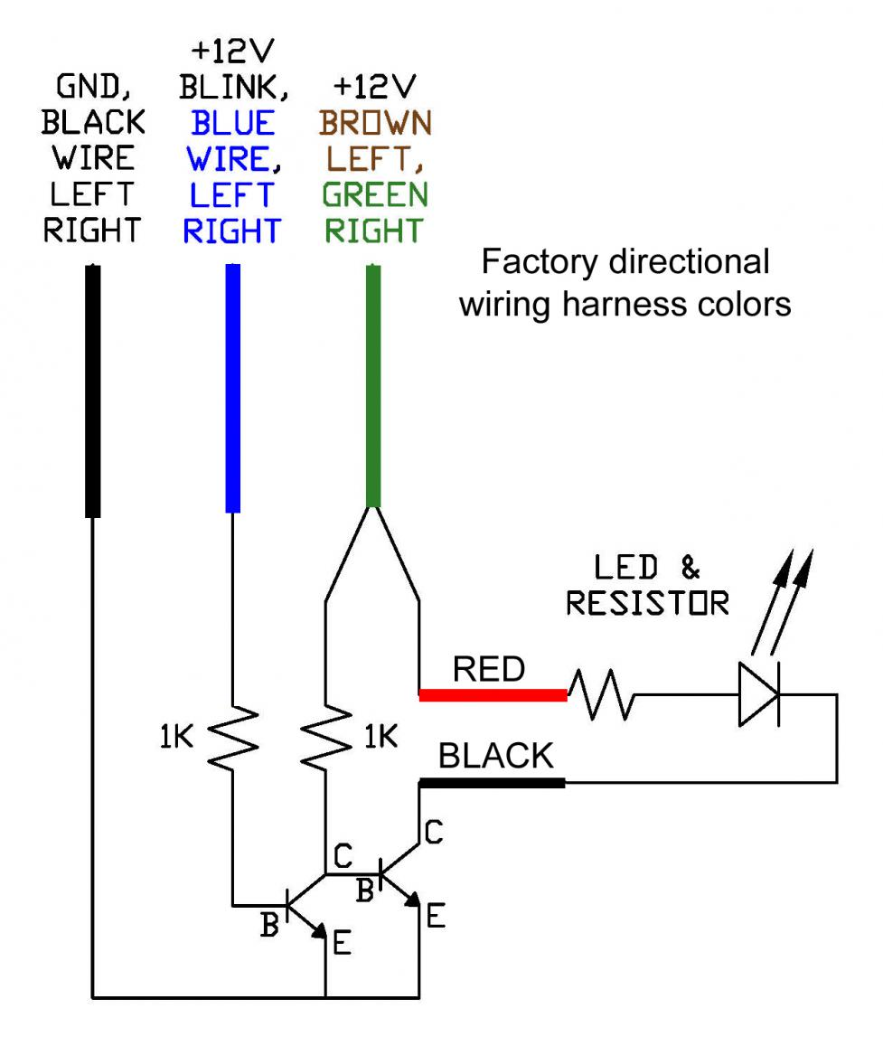 custom led turn signals
