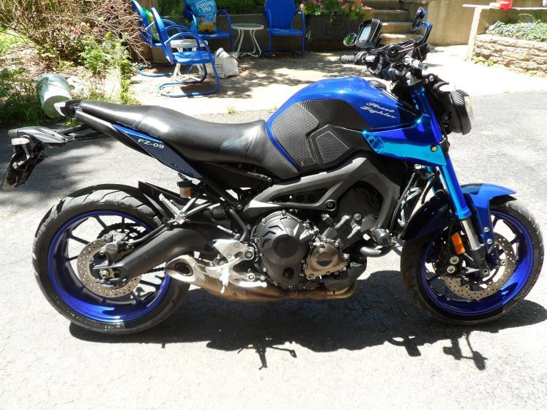 My Blue Fz 09
