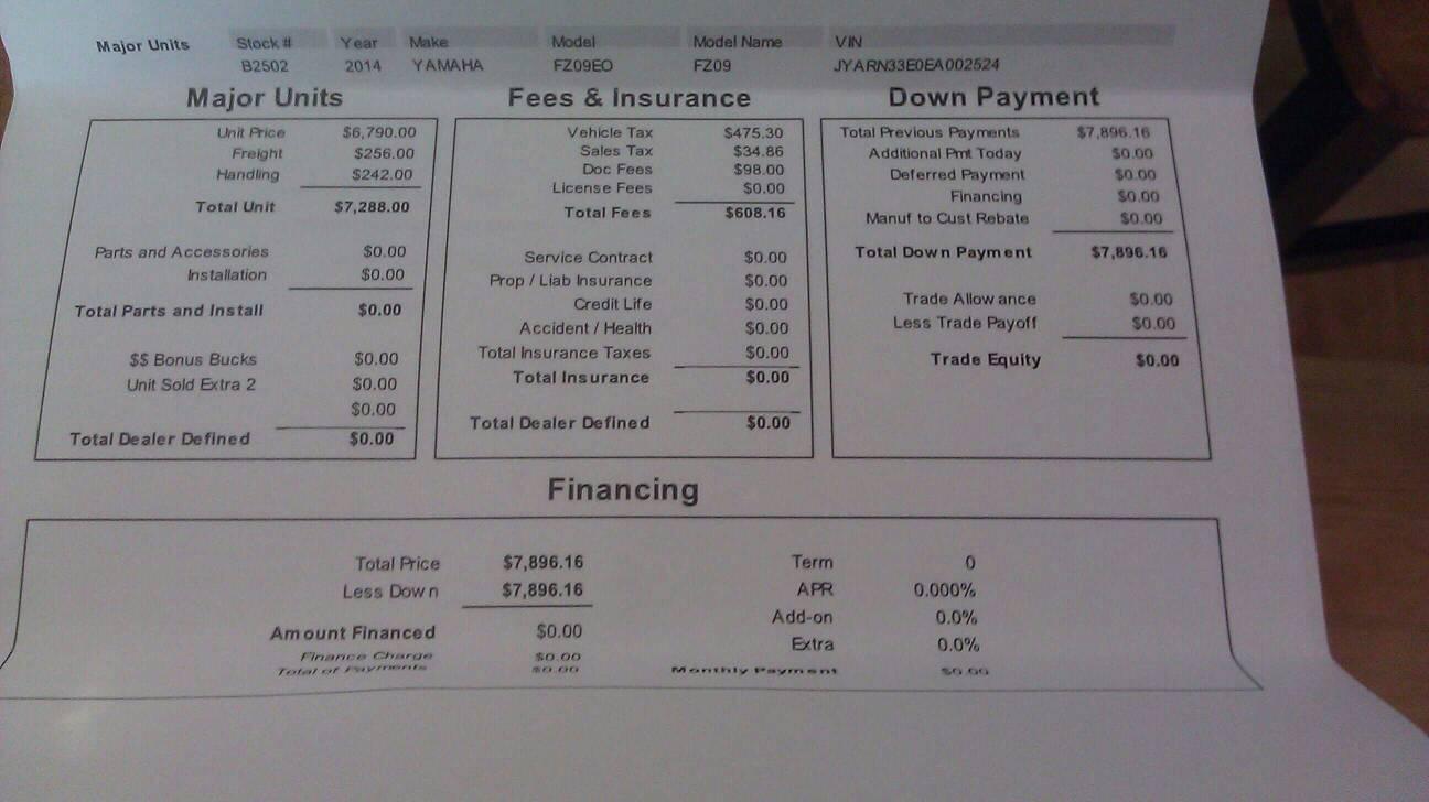 Yamaha finance hsbc credit card