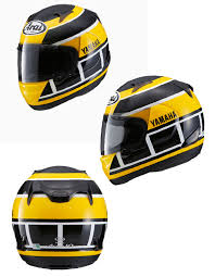 Arai Yamaha Th Anniversary Helmet