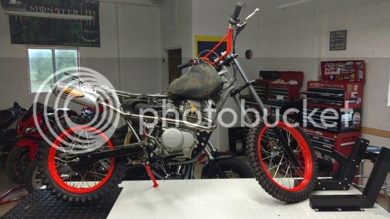 I'm looking for a Honda CRF100 | Yamaha FZ-09 Forum
