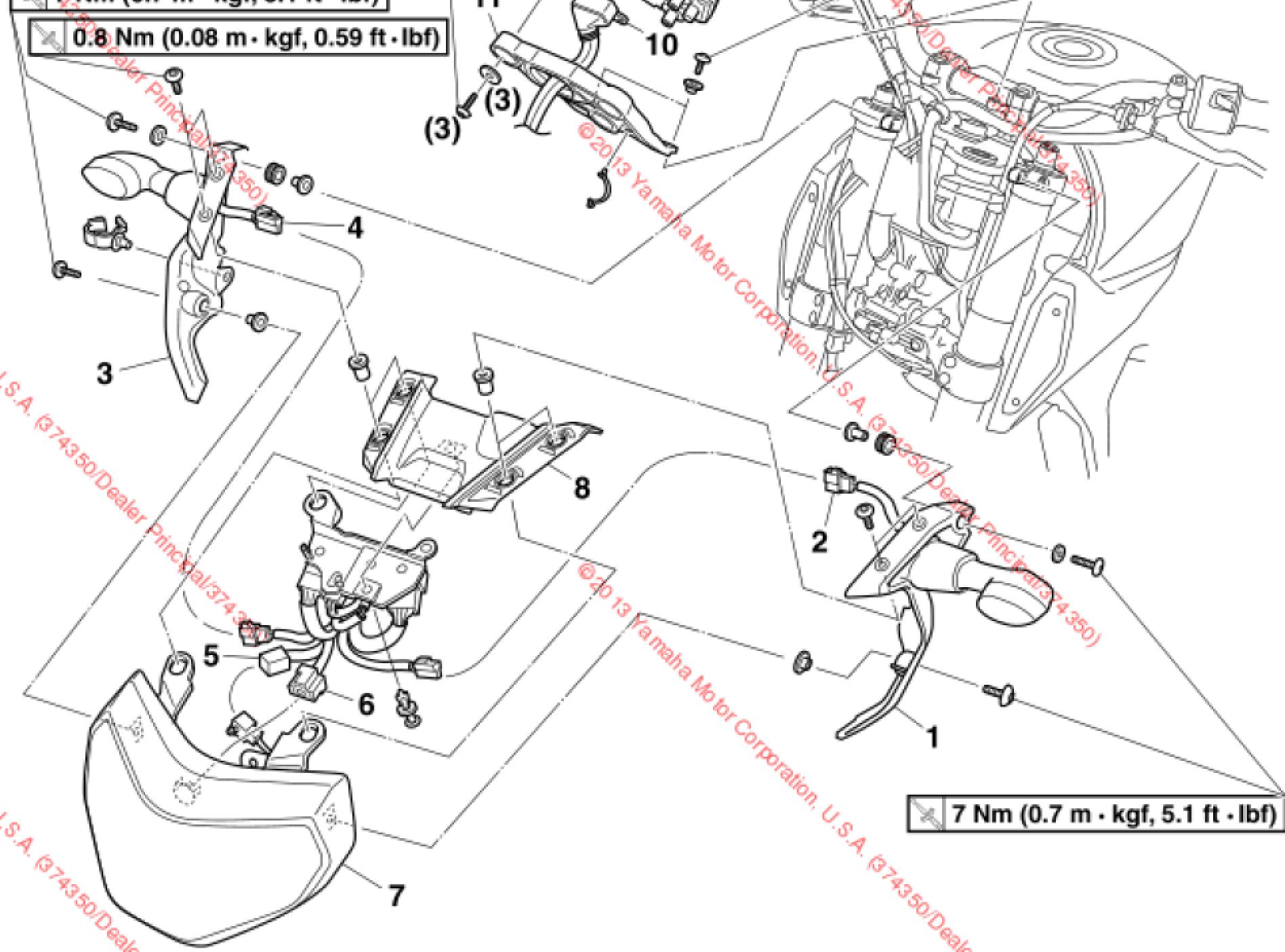 Removing / Replacing Stock Turn Signals | Yamaha FZ-09 Forum on